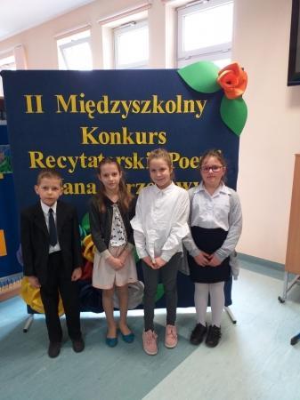 II Międzyszkolny Konkurs  Recytatorski Poezji Jana Brzechwy