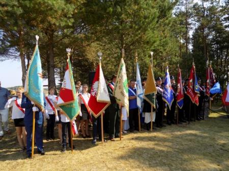 Uroczystości upamiętniające wybuch II Wojny Światowej na Piszczatej Górze