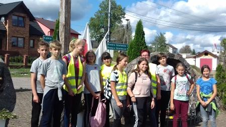 Wycieczka rowerowa kl.VII do Lipnicy