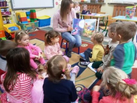 Akcja Mały Miś w Wielkim Świecie Literatury w Przedszkolu