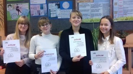 Literackie sukcesy naszych uczennic
