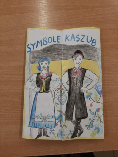 Lapbook o tematyce: Symbole Kaszub